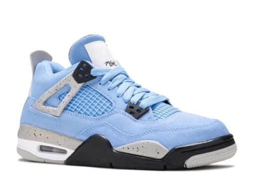 Nike Air Jordan 4 Retro University Blue (GS) 408452-400