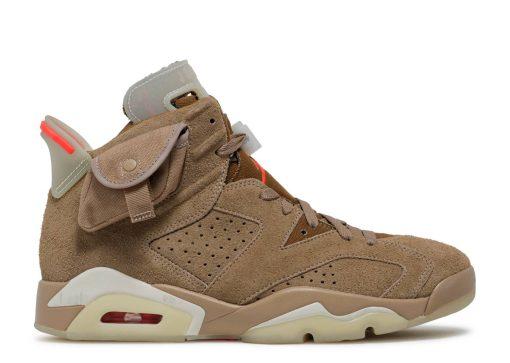 Nike Jordan 6 Retro Travis Scott British Khaki DH0690-200