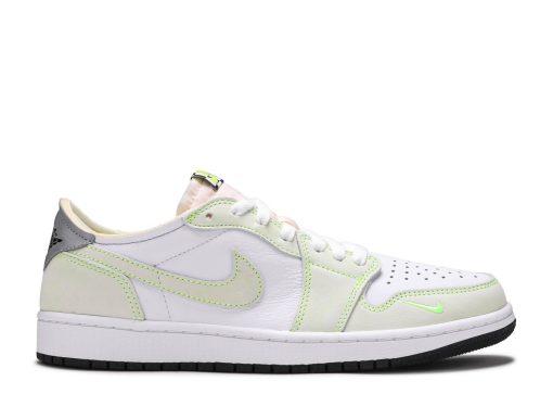 Nike Air Jordan 1 Retro Low White Ghost Green Black DM7837-103