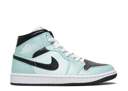 Nike Air Jordan 1 Mid Aqua Blue Tint (W) BQ6472-300