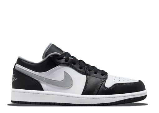 Nike Air Jordan 1 Low Black White Grey 553558-040